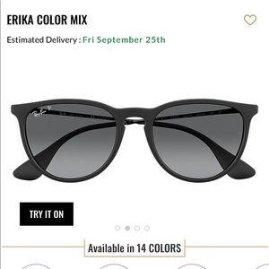 Ray Ban Erika Polarized Sunglasses